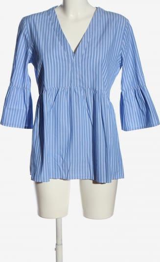 Liebesglück Rüschen-Bluse in L in blau / weiß, Produktansicht