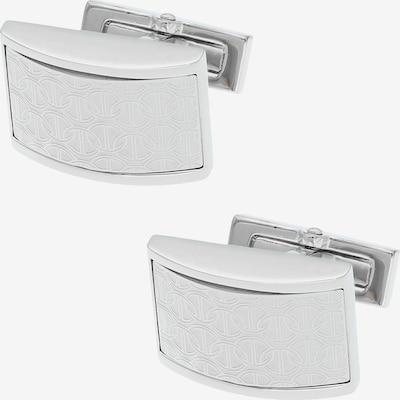 Davidoff Zino Manschettenknöpfe Messing 2 cm in silber, Produktansicht