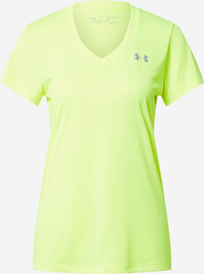 UNDER ARMOUR Performance Shirt in Neon yellow / Grey, Item view