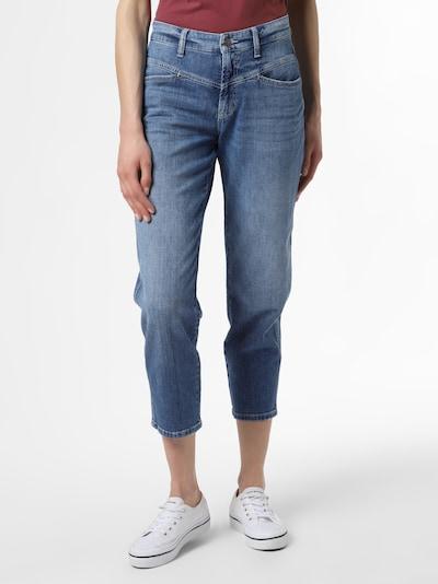 Cambio Jeans 'Kadlin' in blue denim, Modelansicht