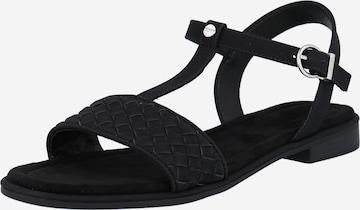 ESPRIT Sandale 'Moa' in Schwarz