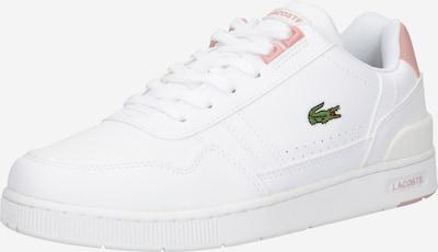 LACOSTE Sneaker in grün / pfirsich / weiß, Produktansicht