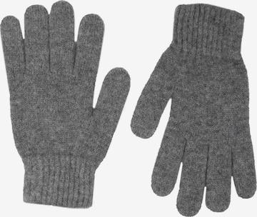 Zwillingsherz Full Finger Gloves in Grey