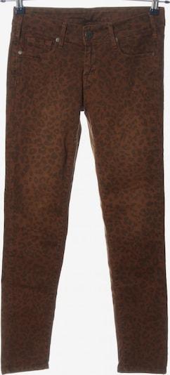 Cimarron Röhrenjeans in 27-28 in braun / schwarz, Produktansicht