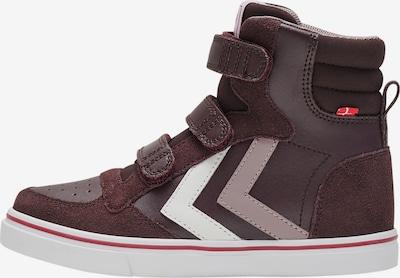 Hummel Sneakers in de kleur Donkerbruin / Lichtlila / Wit, Productweergave