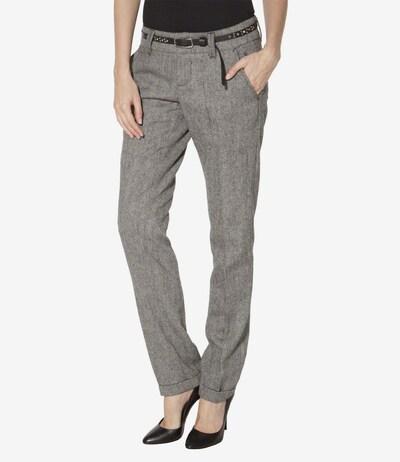 Soccx Tweed-Hose in grau, Modelansicht