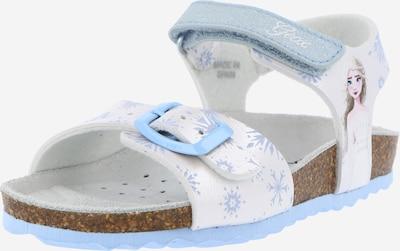 GEOX Sandale 'ADRIEL' in mischfarben / weiß, Produktansicht