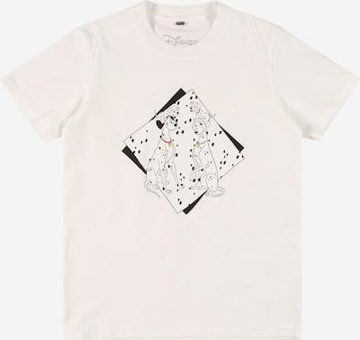 Mister Tee Shirt '101 Dalmatiner Couple' in de kleur Geel / Koraal / Zwart / Wit, Productweergave