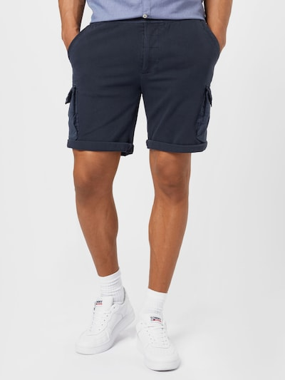 REPLAY Shorts in dunkelblau, Modelansicht
