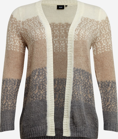 Zizzi Knit cardigan in mixed colours, Item view
