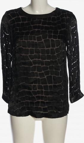 SAND COPENHAGEN Langarm-Bluse in XS in Schwarz