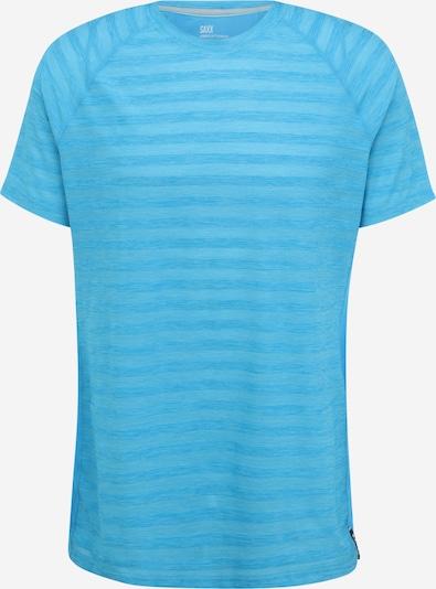 SAXX Sportshirt 'HOT SHOT' in türkis / hellblau, Produktansicht