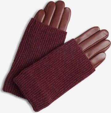 MARKBERG Full finger gloves in Red