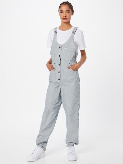 Salopeta 'MOM BIB' Lee pe bleumarin / alb, Vizualizare model