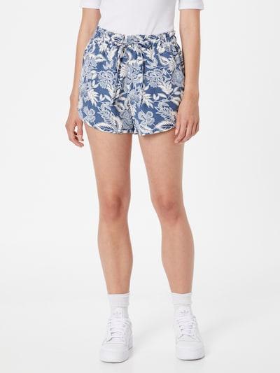 American Eagle Shorts in taubenblau / weiß, Modelansicht