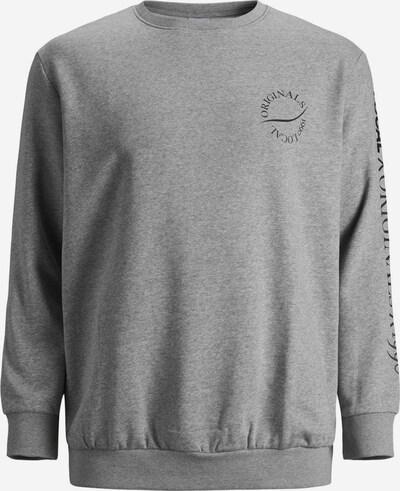 JACK & JONES Sweat-shirt en gris, Vue avec produit