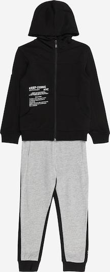 OVS Jogginganzug in grau / schwarz, Produktansicht