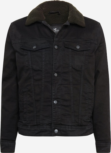HOLLISTER Tussenjas 'Sherpa' in de kleur Black denim, Productweergave