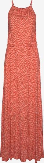 LASCANA Kleid in orange / rot, Produktansicht