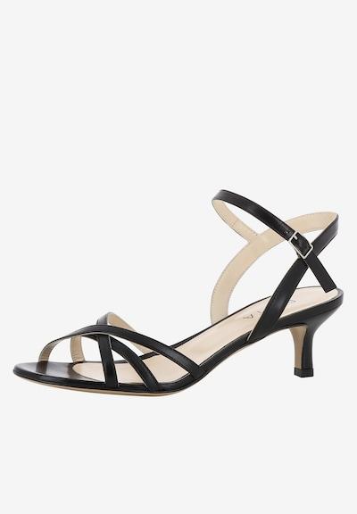 EVITA Damen Sandalette GIOIA in schwarz: Frontalansicht