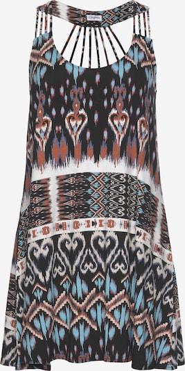 BUFFALO Strandkleid in blau / rot / schwarz / weiß, Produktansicht