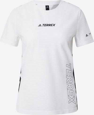 adidas Terrex Sport-Shirt in gelb / schwarz / weiß, Produktansicht