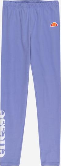 ELLESSE Leggings 'Cabio' in de kleur Lichtlila / Sinaasappel / Rood / Wit, Productweergave
