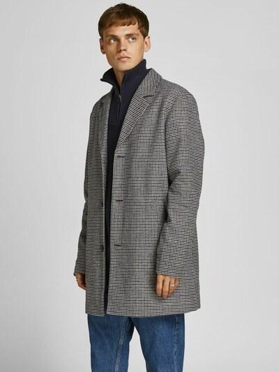 JACK & JONES Prechodný kabát 'Marco' - svetlobéžová / námornícka modrá / kráľovská modrá / hnedá, Model/-ka