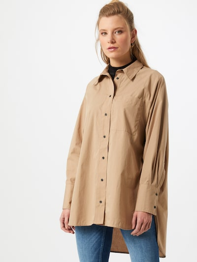 ONLY Bluza 'Selma' | kamela barva, Prikaz modela