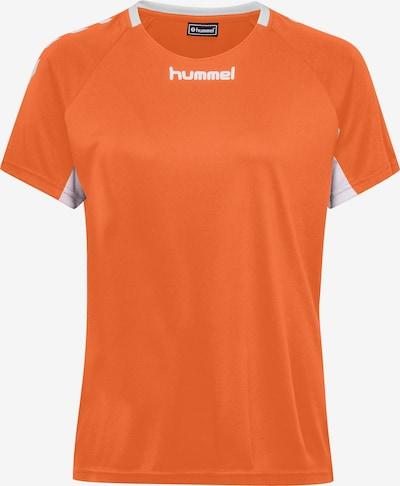 Hummel Functioneel shirt in de kleur Sinaasappel / Wit, Productweergave