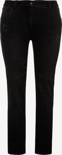 Ulla Popken Jeans in black denim, Produktansicht