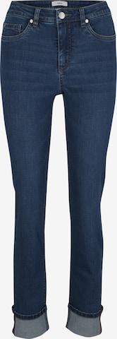 Jeans de la heine pe albastru