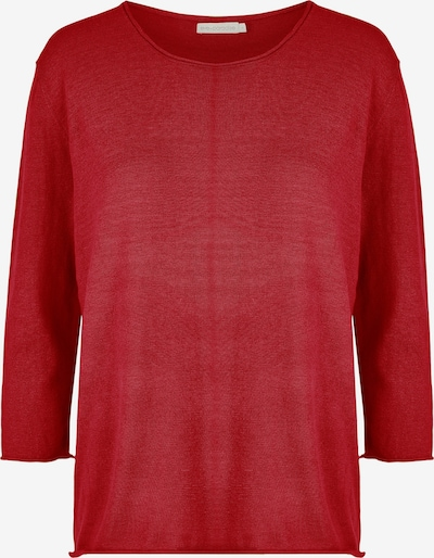 eve in paradise Pullover in rot, Produktansicht