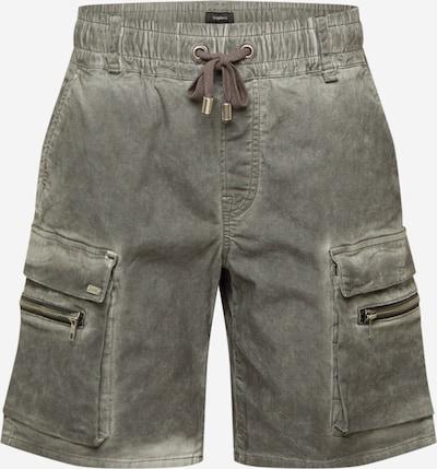 Pantaloni eleganți 'Bayar' tigha pe gri bazalt, Vizualizare produs