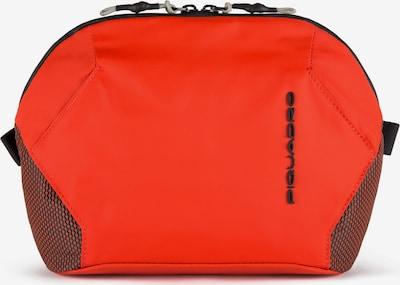 Piquadro Kulturtasche in rot / schwarz, Produktansicht