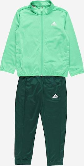 ADIDAS PERFORMANCE Trainingsanzug in grün / dunkelgrün / weiß, Produktansicht