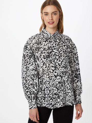ONLY Блуза 'OLYMPIA' в черно