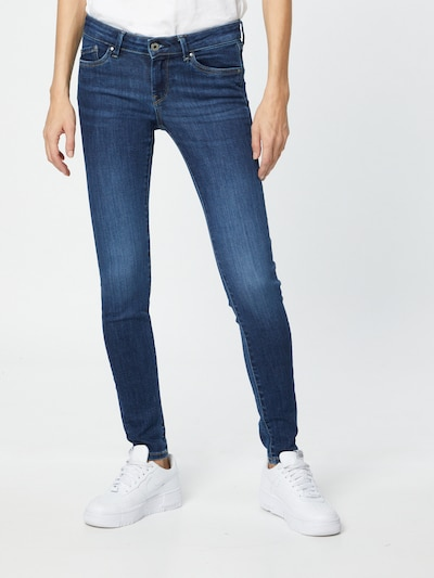 Pepe Jeans Jeans 'PIXIE' in blue denim, Modelansicht