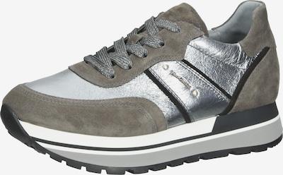 Nero Giardini Sneaker in stone / schwarz / silber, Produktansicht