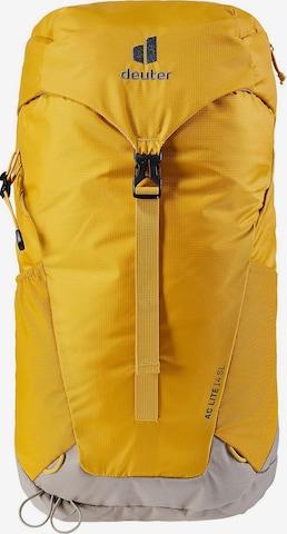 DEUTER Backpack in Yellow