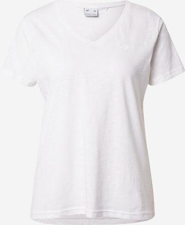 4F Sportshirt in Weiß