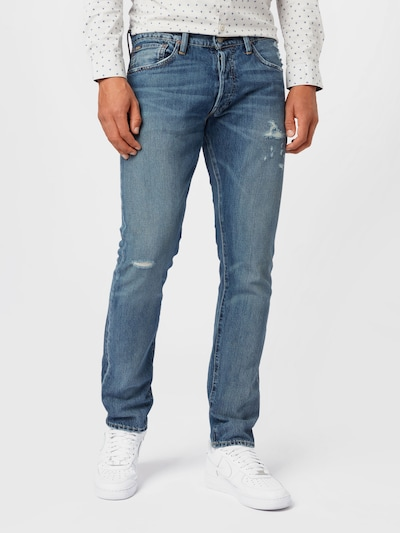POLO RALPH LAUREN Jeans 'SULLIVAN' i blue denim, Modelvisning