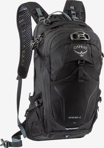 Osprey Sportrucksack 'Syncro 12' in Schwarz