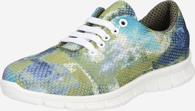 Sneaker low '8000-F' thies pe albastru deschis / albastru închis / oliv / alb, Vizualizare produs