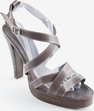 Pedro García High Heel Sandaletten in 40,5 in braun, Produktansicht
