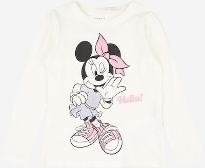 NAME IT Shirt 'Minnie Anja' in mischfarben / weiß, Produktansicht