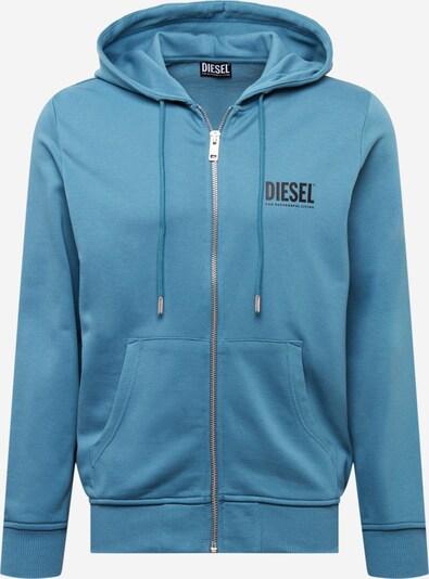 DIESEL Sweatjakke 'GIRK' i himmelblå / sort, Produktvisning