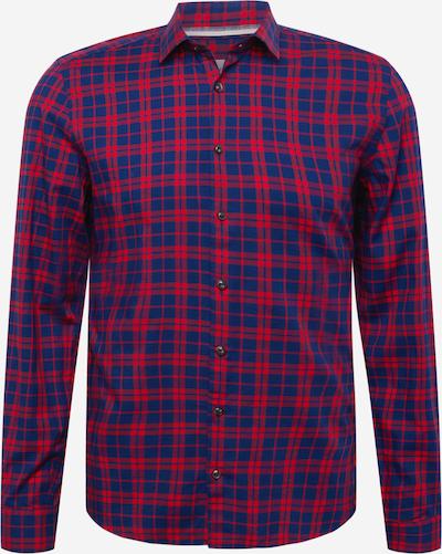 OLYMP Camisa 'Level 5' en navy / rojo, Vista del producto