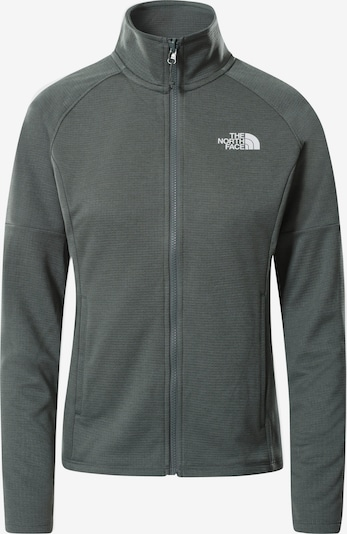 THE NORTH FACE Fleece Jacket in Grey / White, Item view