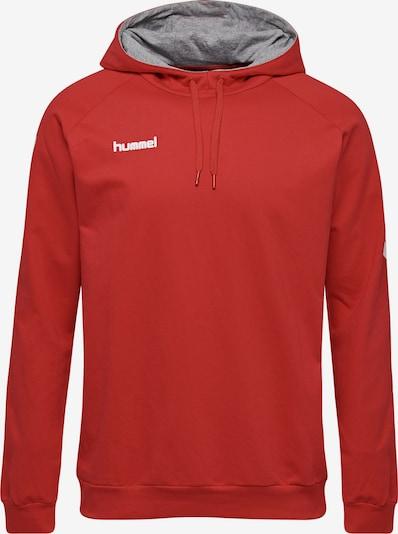 Hummel Sportsweatshirt in pastellrot / weiß, Produktansicht